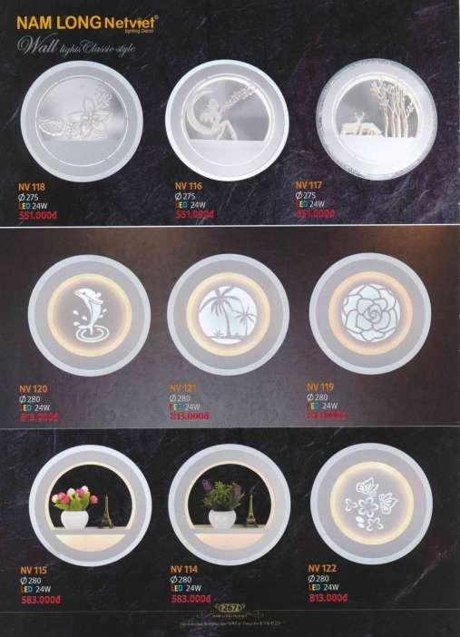 5* Bảng giá [đèn Nam Long Netviet] mới nhất 3