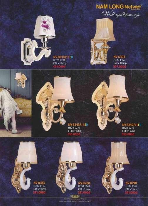 5* Bảng giá, catalogue [đèn Nam Long Netviet] mới nhất 8