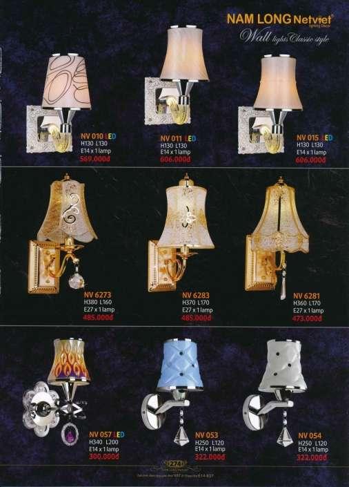 5* Bảng giá, catalogue [đèn Nam Long Netviet] mới nhất 9