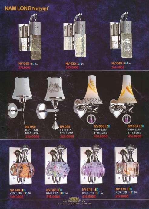 5* Bảng giá, catalogue [đèn Nam Long Netviet] mới nhất 10