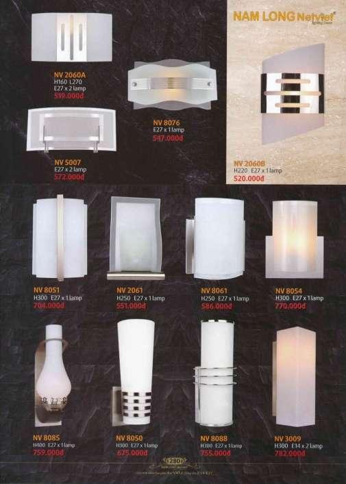 5* Bảng giá, catalogue [đèn Nam Long Netviet] mới nhất 14
