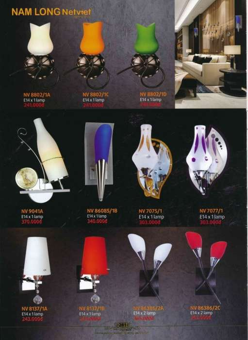 5* Bảng giá, catalogue [đèn Nam Long Netviet] mới nhất 15