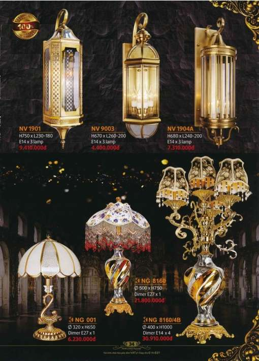 5* Bảng giá, catalogue [đèn Nam Long Netviet] mới nhất 1