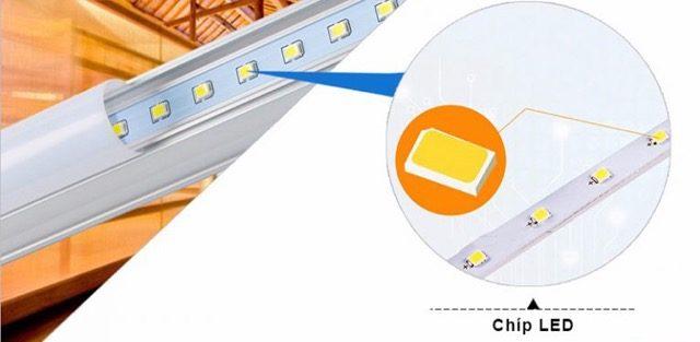 Con chip led cao cap la bo phan quan trong giup den tuyp led t5 chieu sang tot