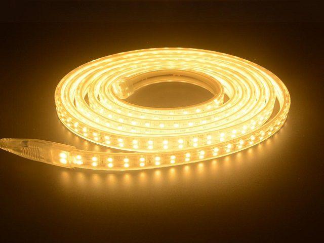 đèn led dây 2835 ánh sáng vàng