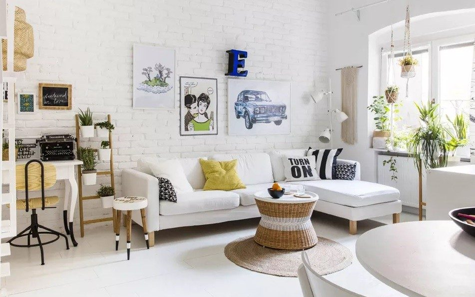 cách trang trí phòng khách nhỏ hợp lí
