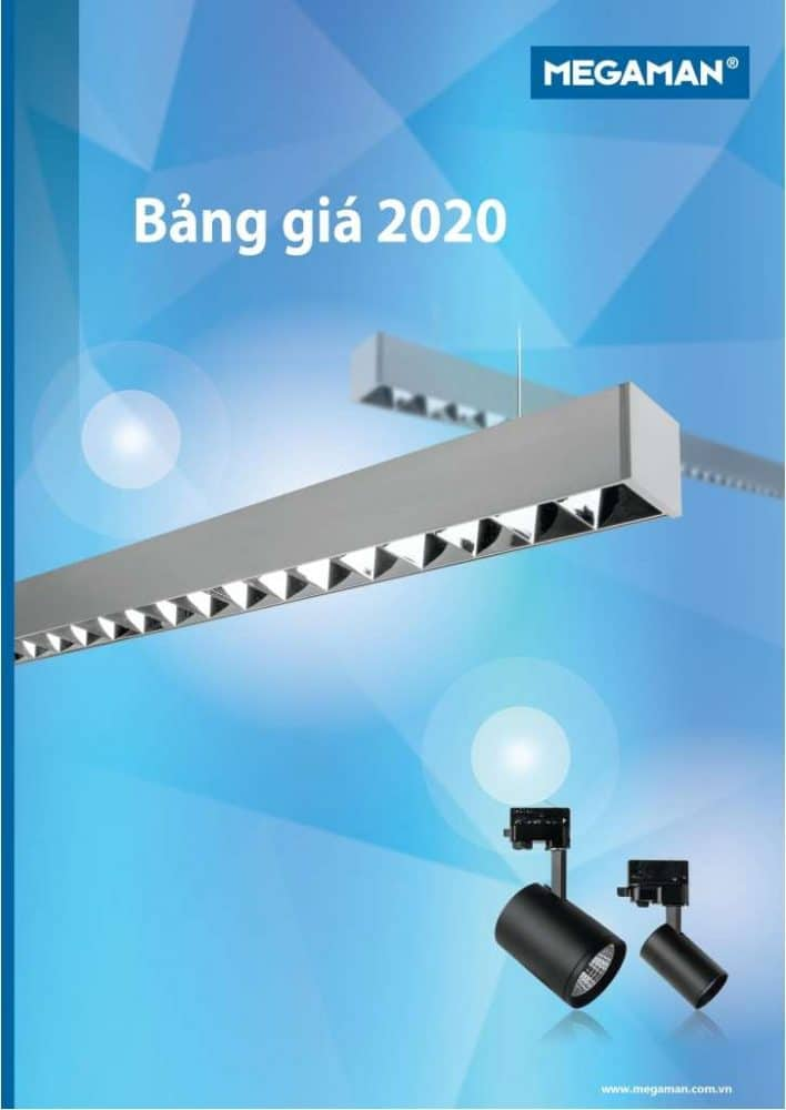 Catalogue, Bang Gia Den Led Megaman