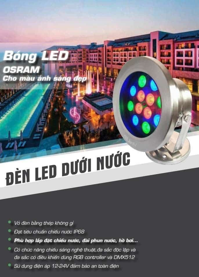 Bang Gia Den Led Am Nuoc Vinaled