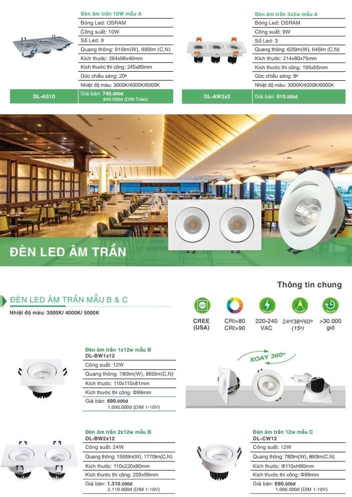 Bang Gia Den Led Mat Trau Vinaled