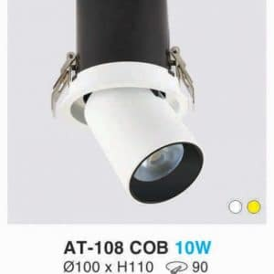 Den Downlight Am Tran At 108 Cob 10w Hufa