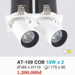Den Downlight Am Tran At 109 Cob 10w X 2 Hufa