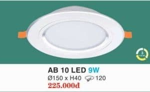 Den Led Am Tran Ab 10 Led 9w Hufa