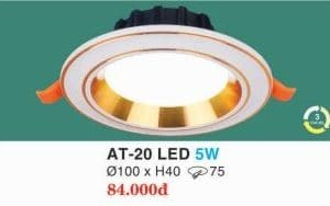 Den Led Am Tran At 20 Led 5w Hufa