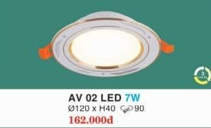Den Led Am Tran Av 02 Led 7w Hufa