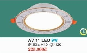 Den Led Am Tran Av 11 Led 9w Hufa