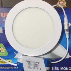 Den Led Am Tran Sieu Mong Doi Mau At 81 Led 12w Hufa 5