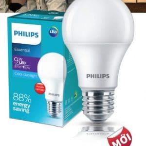 Den Led Bulb Essential 3w E27 6500k 3000k 230v A60