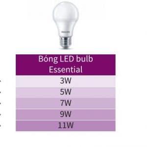 Den Led Bulb Essential 5w E27 6500k 3000k 230v A60