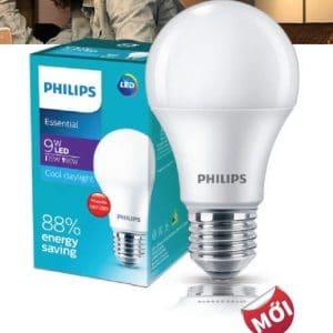 Den Led Bulb Essential 9w E27 65000k 3000k 230v A60
