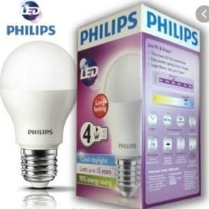 Den Led Bulb Mycare 4w E27 6500k 3000k 230v P45apr
