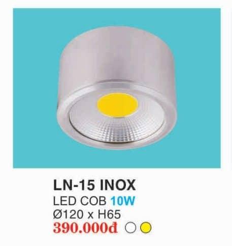 Den Led Downlight Ln 15 Inox Hufa