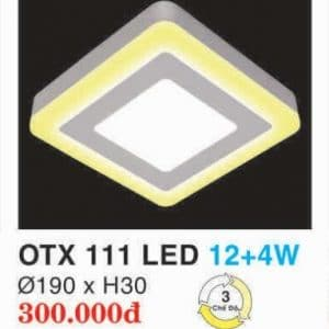 Den Led Panel Lighting Hop Kim Nhom Cao Cap Otx 111 Led 124w Hufa