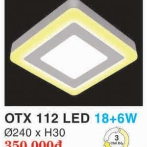 Den Led Panel Lighting Hop Kim Nhom Cao Cap Otx 112 Led 186w Hufa