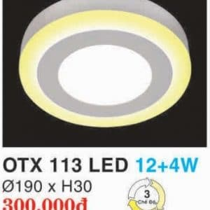 Den Led Panel Lighting Hop Kim Nhom Cao Cap Otx 113 Led 124w Hufa