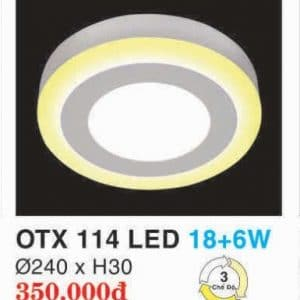 Den Led Panel Lighting Hop Kim Nhom Cao Cap Otx 114 Led 186w Hufa