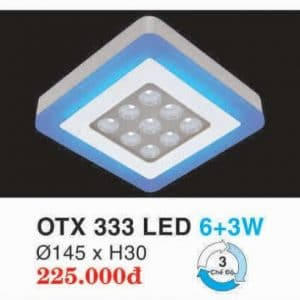 Den Led Panel Lighting Hop Kim Nhom Cao Cap Otx 333 Led 63w Hufa