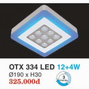 Den Led Panel Lighting Hop Kim Nhom Cao Cap Otx 334 Led 124w Hufa