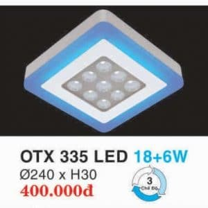 Den Led Panel Lighting Hop Kim Nhom Cao Cap Otx 335 Led 186w Hufa