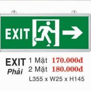 Den Loi Thoat Hiem Exit Phai 1 Mat 1
