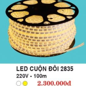 Led Cuon Doi Vang