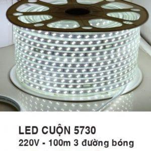 Led Cuon Mau Trang