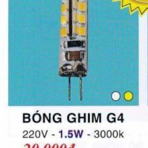 Bóng Ghim G4 1.5w