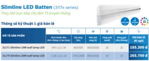 T5 Batten 31171 Slimline