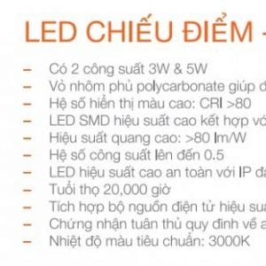Bo Den Chieu Diem Spotlight 3w