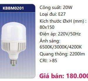 Bong Led Cong Suat Cao Doi Maukbbm0201
