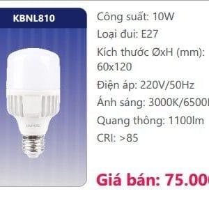 Bong Led Cong Suat Cao Kbnl810