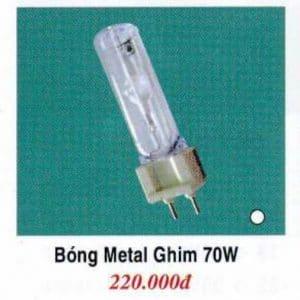 Bong Metal Ghim 70w Trang