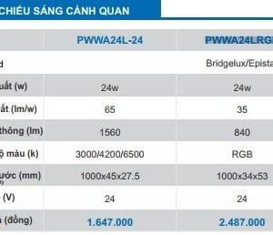Den Canh Quang Nhieu Mau
