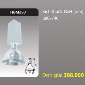 Den Choa Cong Nghiep Hbm250