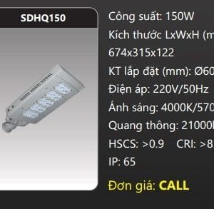 Den Duong Led Sdhq150