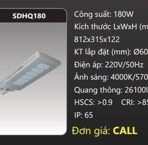 Den Duong Led Sdhq180
