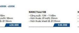 Den Led Am Tran 9w Panasonic 3 Mau Nnnc7646088