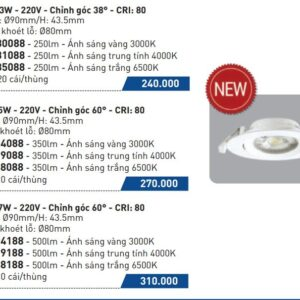 Den Led Am Tran Panasonic 7w Nnnc7624188 Nnnc7629188 Nnnc7628188
