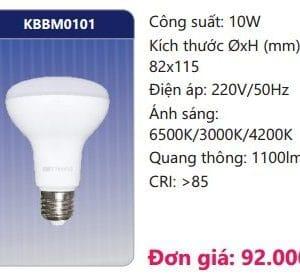 Den Led Bulb Doi Mau Kbbm0101