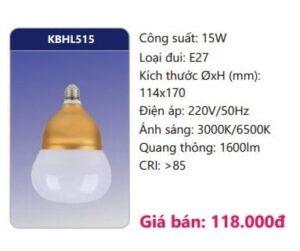 Đèn led tròn - Bulb Duhal