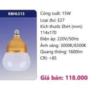 Den Led Bulb Kbhl515 15w